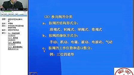 0001.土豆网-15 液压与气压传动 华中科技大学