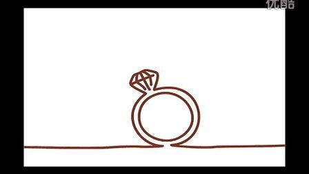 原创德芙个性化巧克力定制广告