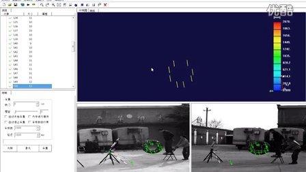 充气轮胎跌落---三维动态变形(高速相机)