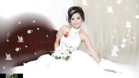 越南佳缘网  越南百合网  越南佳丽  安徽潘先生美丽的越南新娘婚纱照