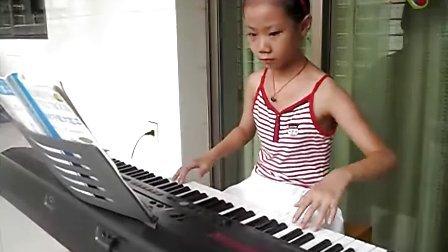 电子琴演奏——七色光之歌