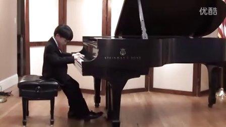 黎安宙弹奏克莱文泰钢琴奏鸣曲