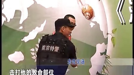 南京龙虎突击队参加法治集结号一周年活动