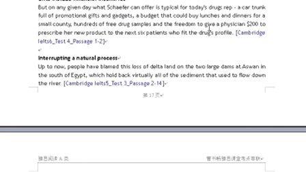雅思阅读考点串联第九讲 www.bwielts.com