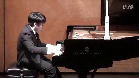 黎卓宇(George Li)弹奏李斯特两首音乐会练习曲
