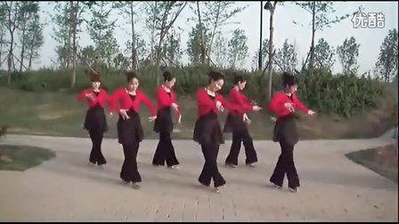 最新广场舞:蓝色的蒙古高原 原创附分解教学演示