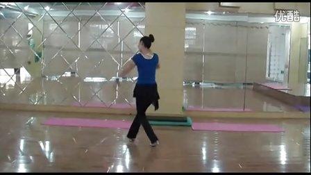 最新广场舞:蓝色的蒙古高原 分解动作及背面舞蹈展示
