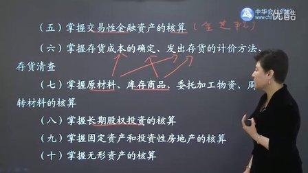 中华会计网校2012高清课件免费试听《初级会计实务》一 (杨闻萍)