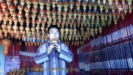 音乐佳紫竹铜套小D调  专业演奏录音型葫芦丝介绍讲解试音