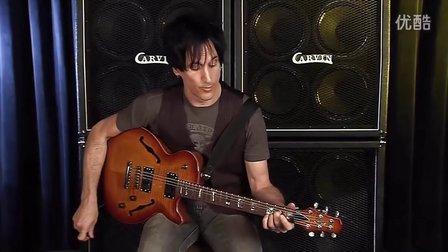 Carvin SH550 Semi Hollow electric guitar demo