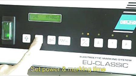 奥斯汀标记设备 电解液打标机EU300