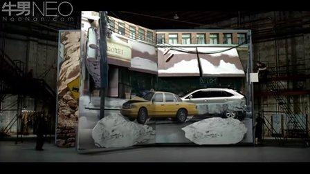 雷克萨斯汽车创意广告