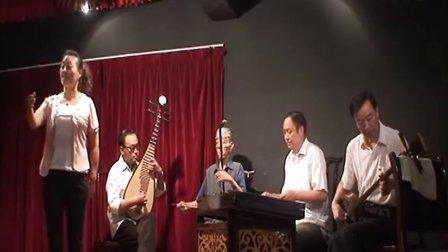兰州鼓子:刘艳玲-伯牙抚琴  乐器伴奏:扬琴-陈增三:三弦-肖朝祥:琵琶-郑永瑶:二胡-段发科