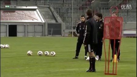 快速团队:德国国家队传球训练①