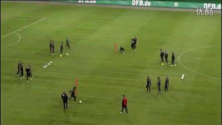 快速团队:德国国家队传球训练②