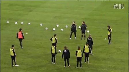 快速团队:德国国家队传球训练⑤