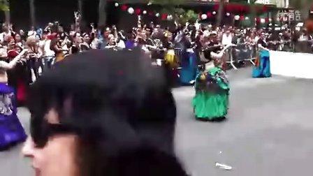 <Eleen Kim's 视界> 美国街上ATS游行舞蹈