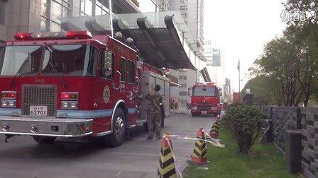皇冠假日酒店消防演习(一)