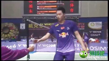 【直播地址】2013最新羽毛球比赛 1/8决赛 男双比赛视频 1 羽球吧