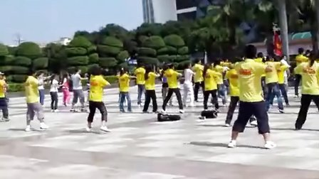 欢乐海洋广场舞-老鹰抓小鸡