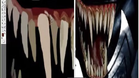 画画模仿-黑蜘蛛侠163