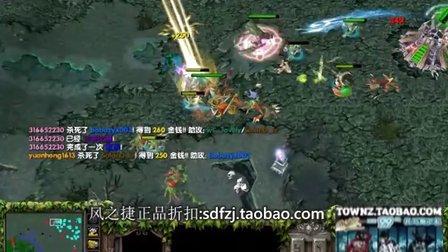 【Mirana解说】【杀戮盛宴】4V5超级兵赏金圣剑绝地翻盘