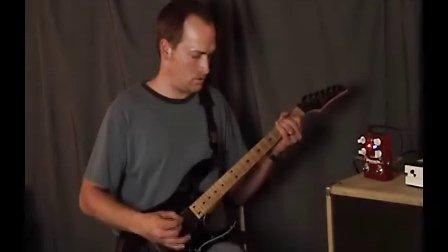 Steve Townsend playing through Wampler Pinnacle