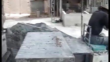 【海洋绿洲牌】新型石膏砌块机石膏砌块设备视频
