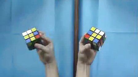 魔方高手基本手法演示之对镜www.scsiot.com子 标清