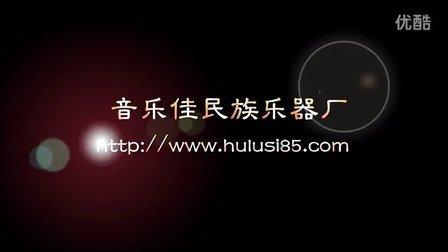音乐佳天木竹节黑檀F调葫芦丝 介绍讲解试音
