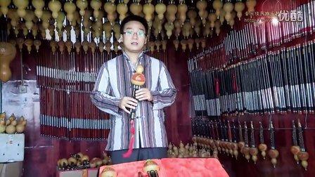 音乐佳天木平角黑檀C调葫芦丝介绍视频讲解试音