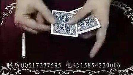 [香烟穿牌]-[ZEEJO魔术]
