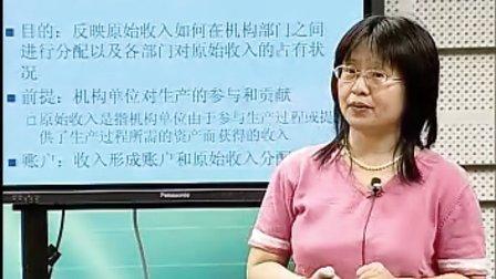 国民经济核算精品课程视频教程——主讲李静萍
