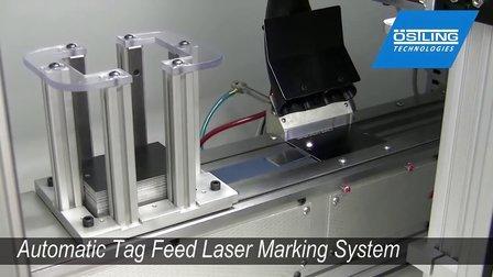 Ostling LasOnAll Automatic Tag Feed Marking System