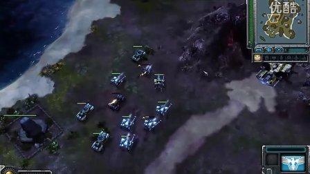 [IC][红警3][对战解说]丧心病狂(苏联) vs 神话(盟军)