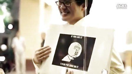 马来西亚男子求婚录影-全世界女性都想说愿意