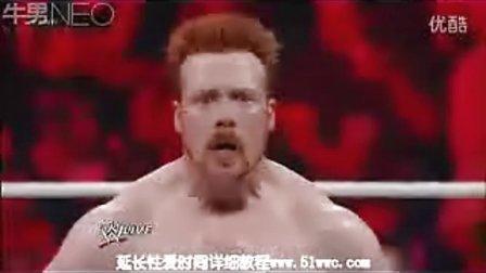 道夫齐格勒 WWE20120702 希莫斯 阿普里尔小姐 vs 道夫 齐格勒 薇琪 格雷罗