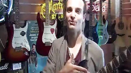 接受法国电视台TEBEO专访-Inophis- 法丽达吉他 Farida DK 28