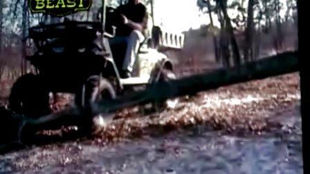 强焊的电动四驱越野车可以去参加汽车拉力赛了悍马派头啊