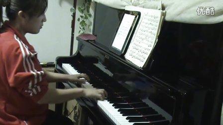 孟庭苇《风中有朵雨做的云》钢琴视奏版