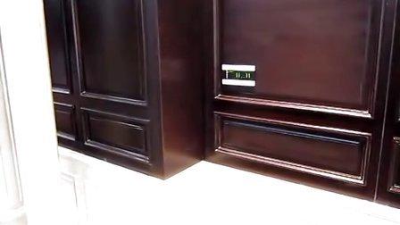 办公室智能照明系统演示:灯光、电动窗帘场景控制