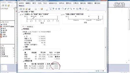 JMP教程-分析两个变量的关系(以X拟合Y)视频教程(回归,列联表,方差分析,Logistic回归)