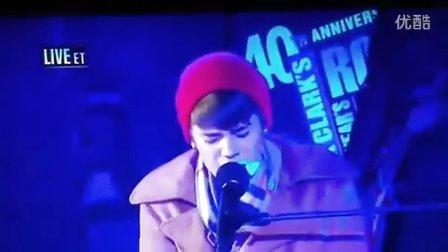 Justin Bieber 《Let It Be》纽约时代广场 DCNYE 现场版