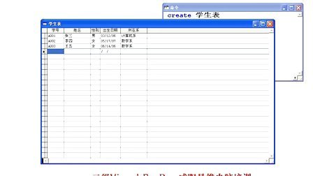 咸阳市易维电脑培训学校-计算机二级VFP视频教程-VFP表结构的操作