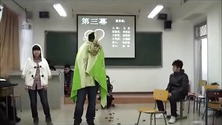 BCU舞台剧《夜莺与玫瑰》by11英传本2班