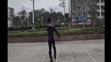 博白广场舞-爱上草原爱上你(反面) 标清