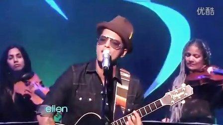 Bruno Mars Grenade ( Live Ellen Show)
