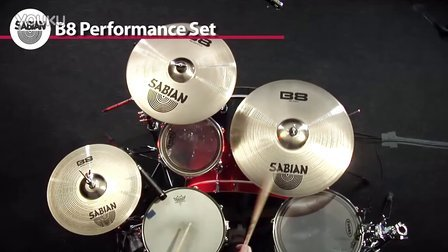Sabian 镲片演示系列 十四  高清 B8 Performance Pack