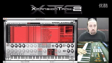 XT2 SampleTank 钢琴, 弦乐 和 木吉他音色