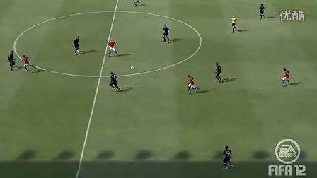 FIFA12  曼联快速反击
